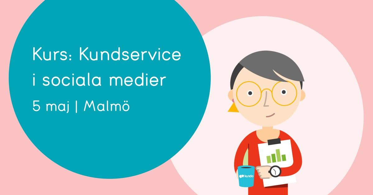 Kurs kundservice i SoMe Malmö